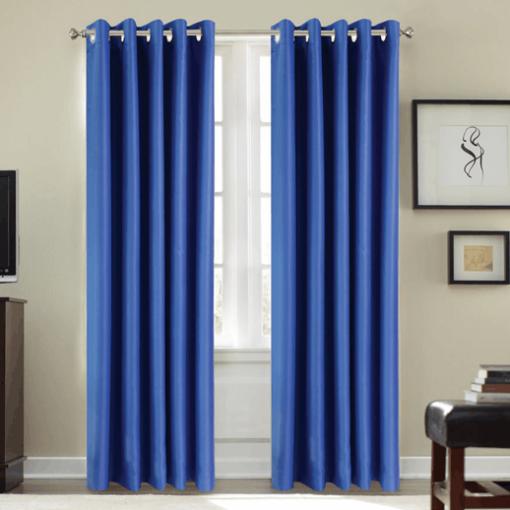 Cortina para aislamiento acústico 11db color Azul