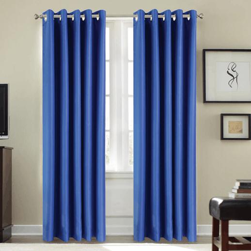 cortina para aislamiento ac stico 21db azul cortinas