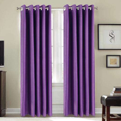 Cortina para aislamiento acústico 21db color Violeta